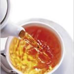 Золотисто-медный чай.
