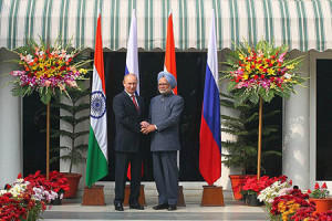 Путин в Индии.