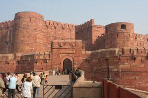 Прекрасный_Форт_Агра,_Индия