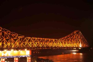 Howrah_Bridge_at_night
